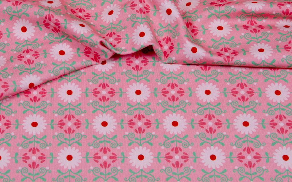 Hilco Jersey Ranken rosa
