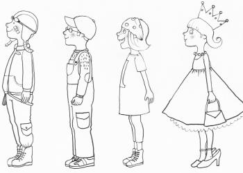 4 Figuren outline