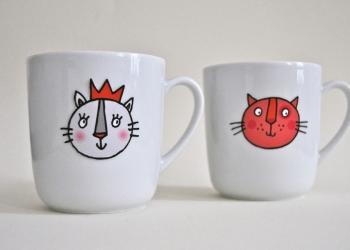 Katzen Tassen