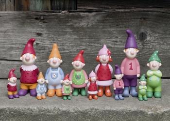 6 Zwergenfiguren