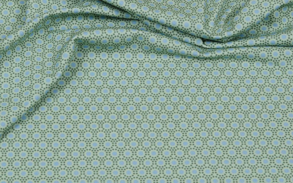 Hilco Jersey dots gruen