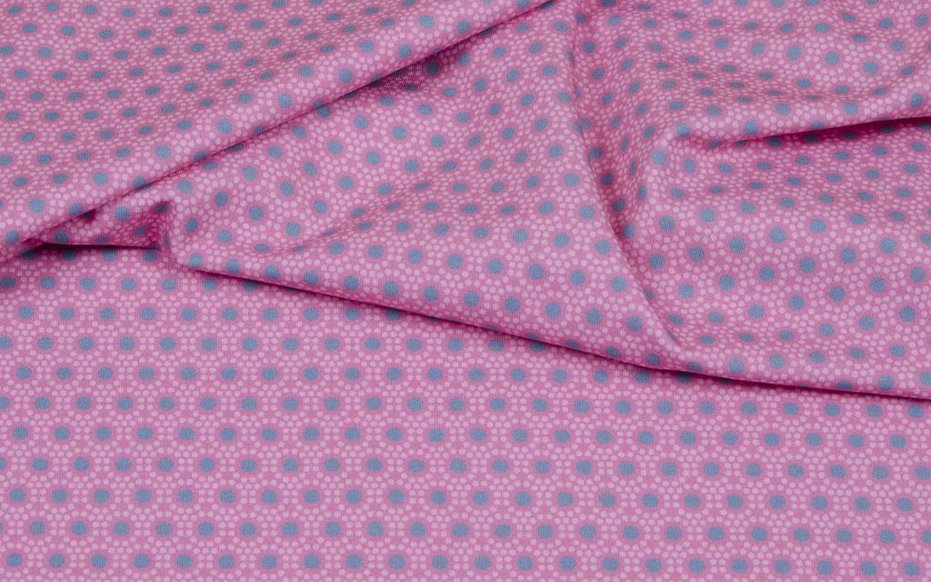 Hilco Jersey dots rosa